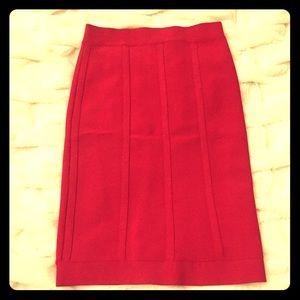 BCBG bandage skirt (Red)
